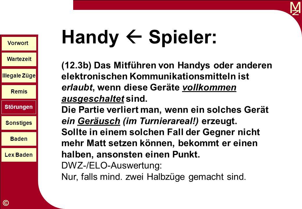Handy  Spieler: