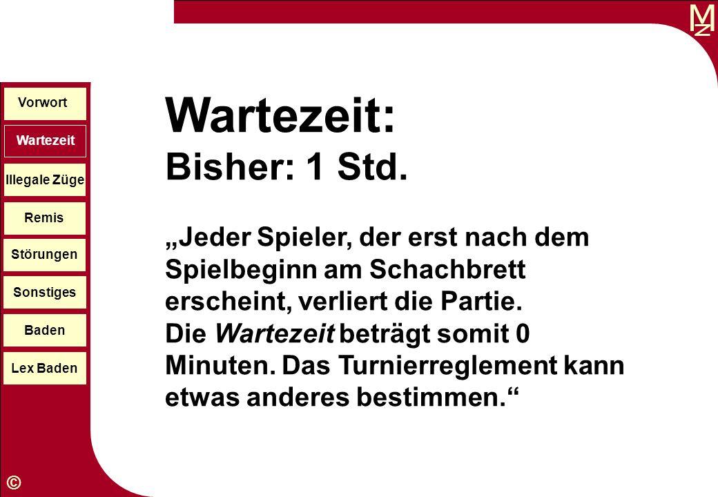 Wartezeit: Bisher: 1 Std.