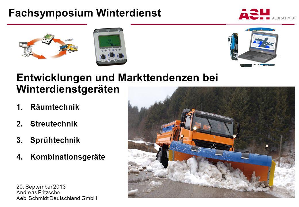 Fachsymposium Winterdienst