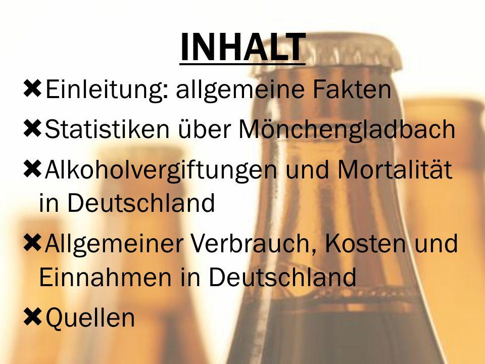 INHALT Quellen Einleitung: allgemeine Fakten