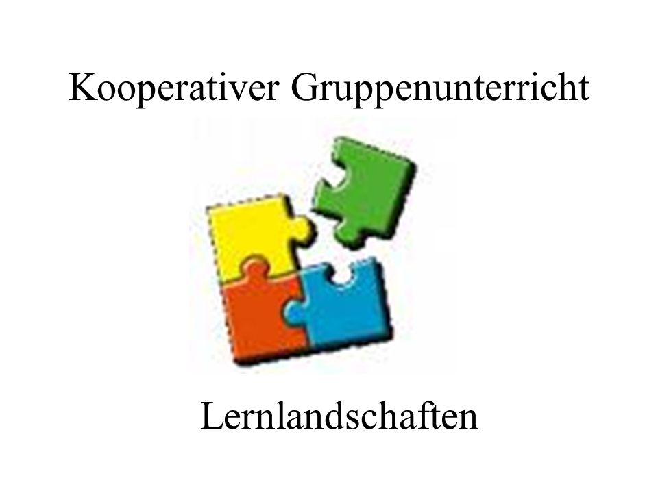 Kooperativer Gruppenunterricht