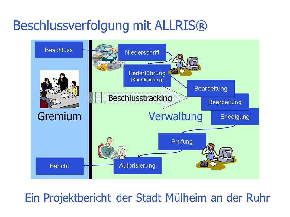 Beschlussverfolgung mit ALLRIS®