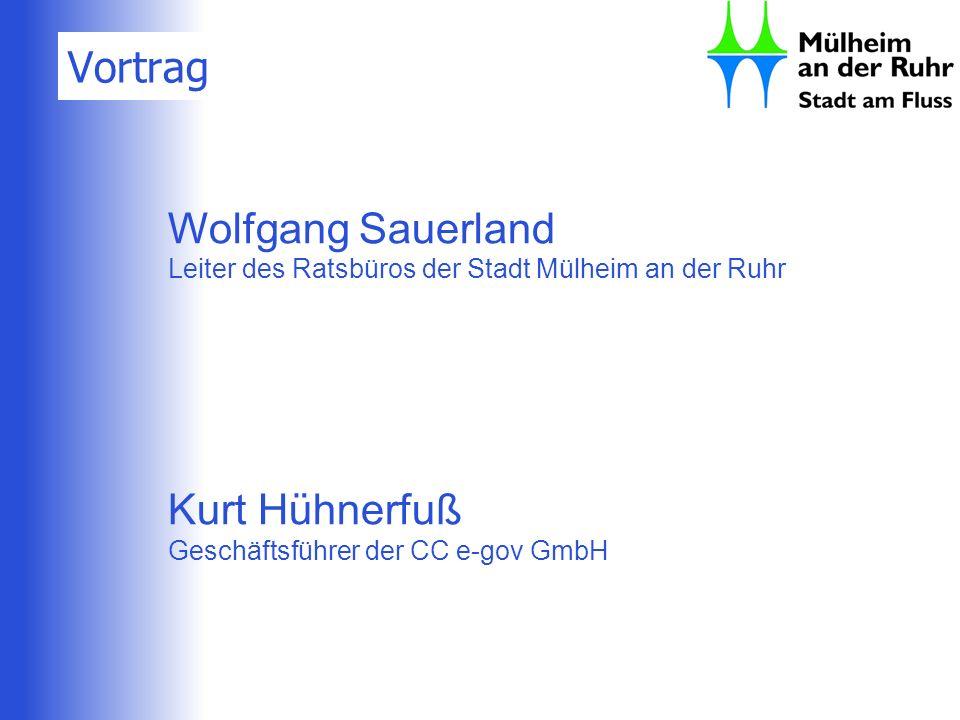 Vortrag Wolfgang Sauerland Kurt Hühnerfuß