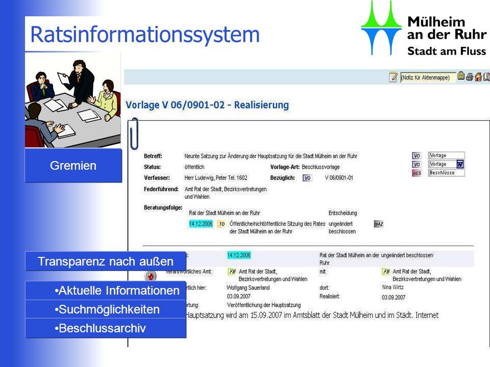 Ratsinformationssystem