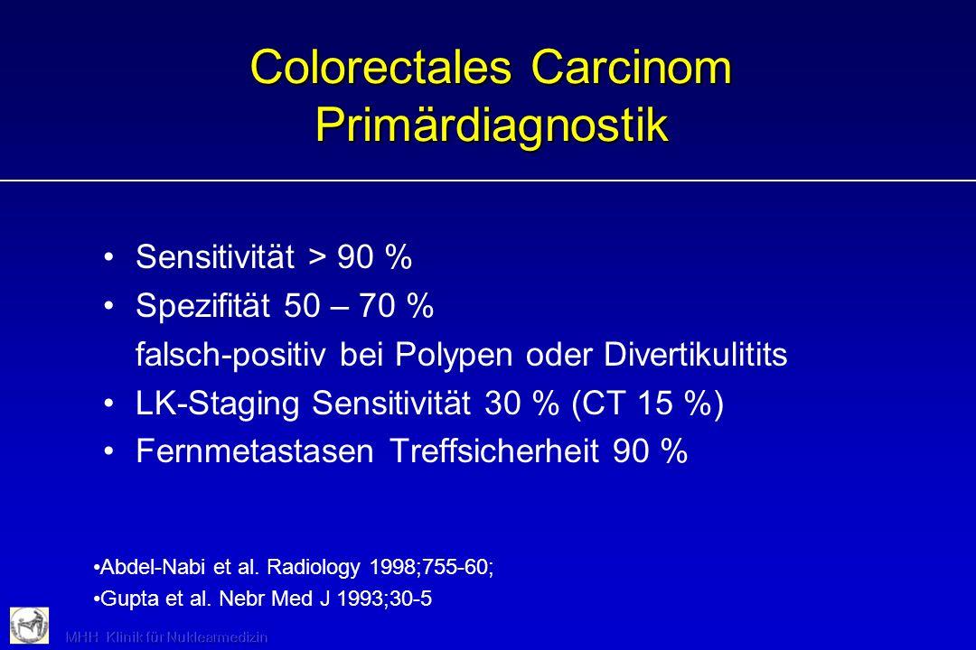 Colorectales Carcinom Primärdiagnostik