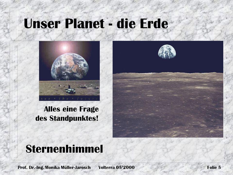 Unser Planet - die Erde Sternenhimmel