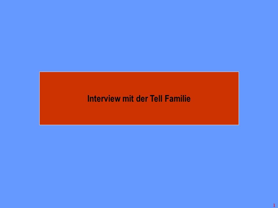 Interview mit der Tell Familie