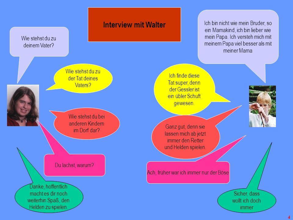 Interview mit Walter