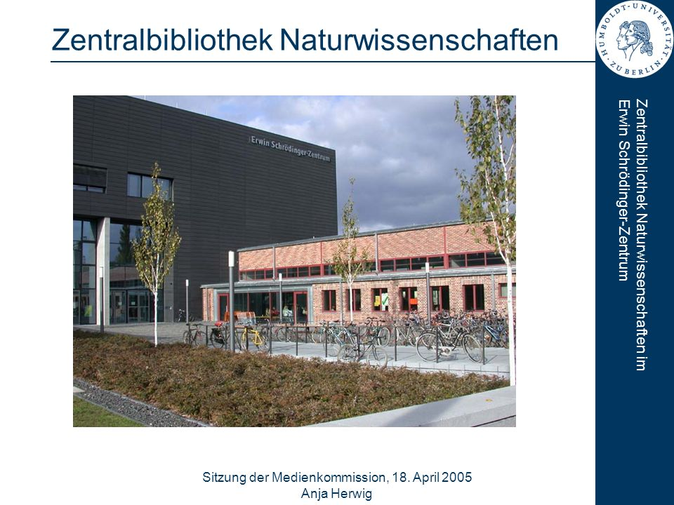 Zentralbibliothek Naturwissenschaften