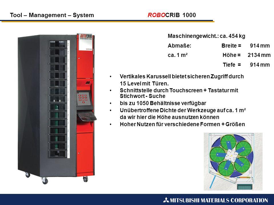Tool – Management – System ROBOCRIB 1000