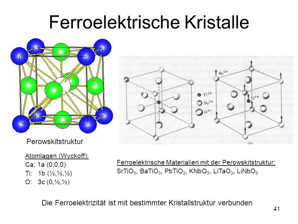 Ferroelektrische Kristalle