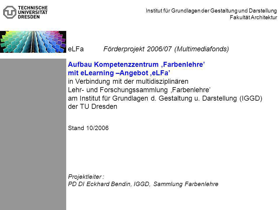 Förderprojekt 2006/07 (Multimediafonds)