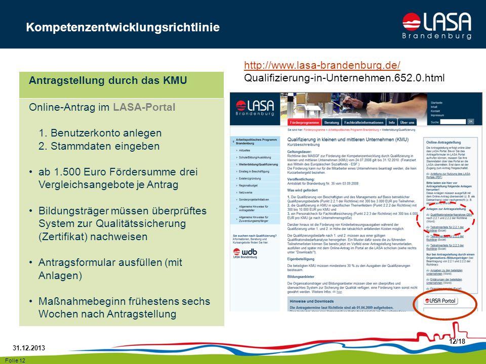 Kompetenzentwicklungsrichtlinie