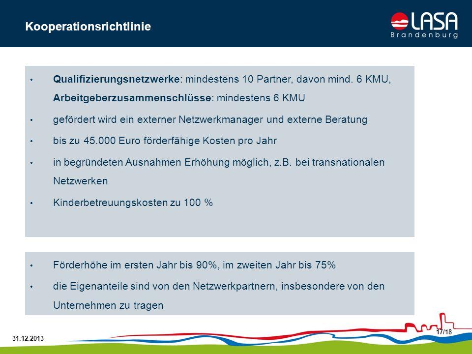 Kooperationsrichtlinie