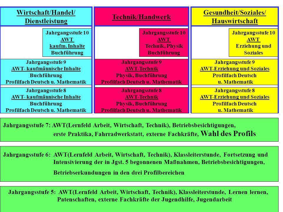 Gesundheit/Soziales/ Hauswirtschaft