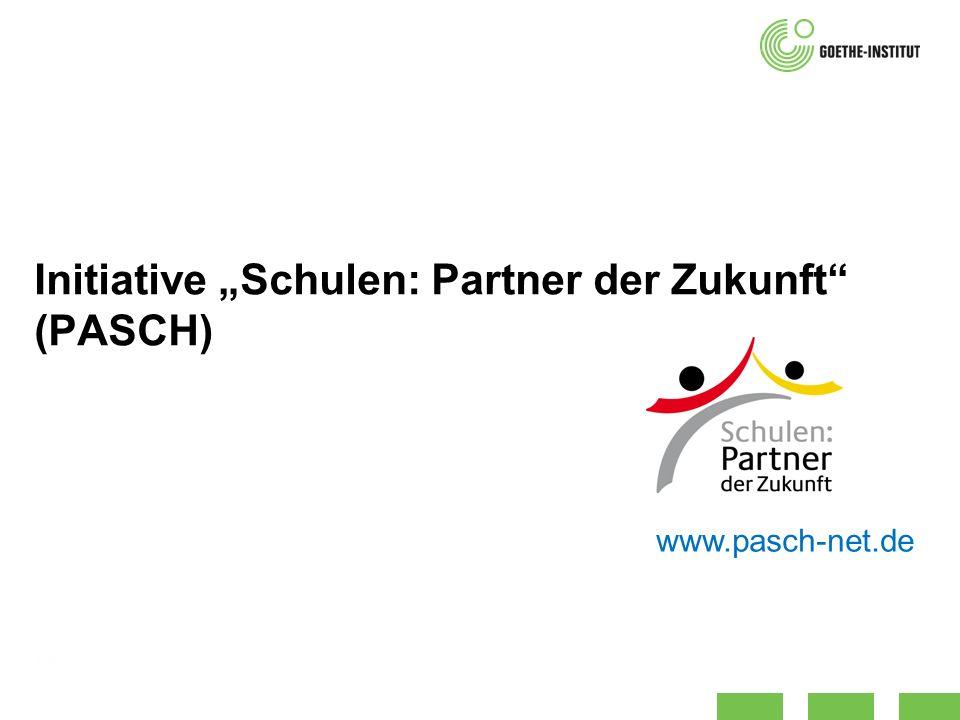 """Initiative """"Schulen: Partner der Zukunft (PASCH)"""