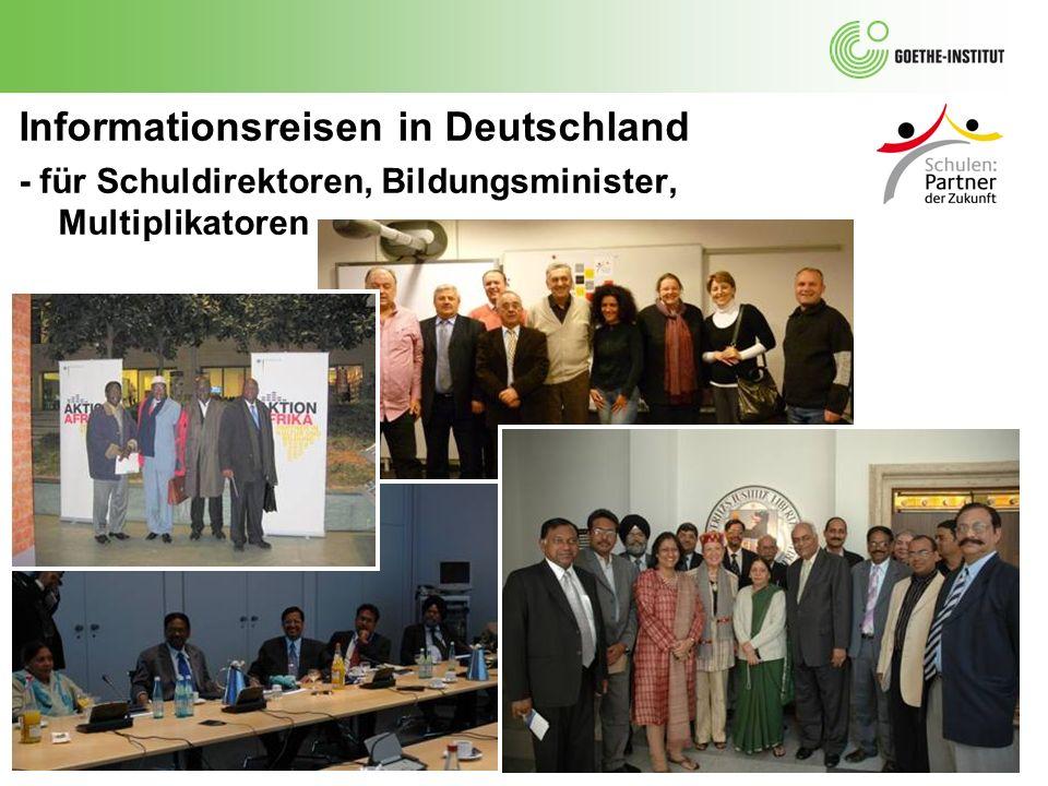 Informationsreisen in Deutschland