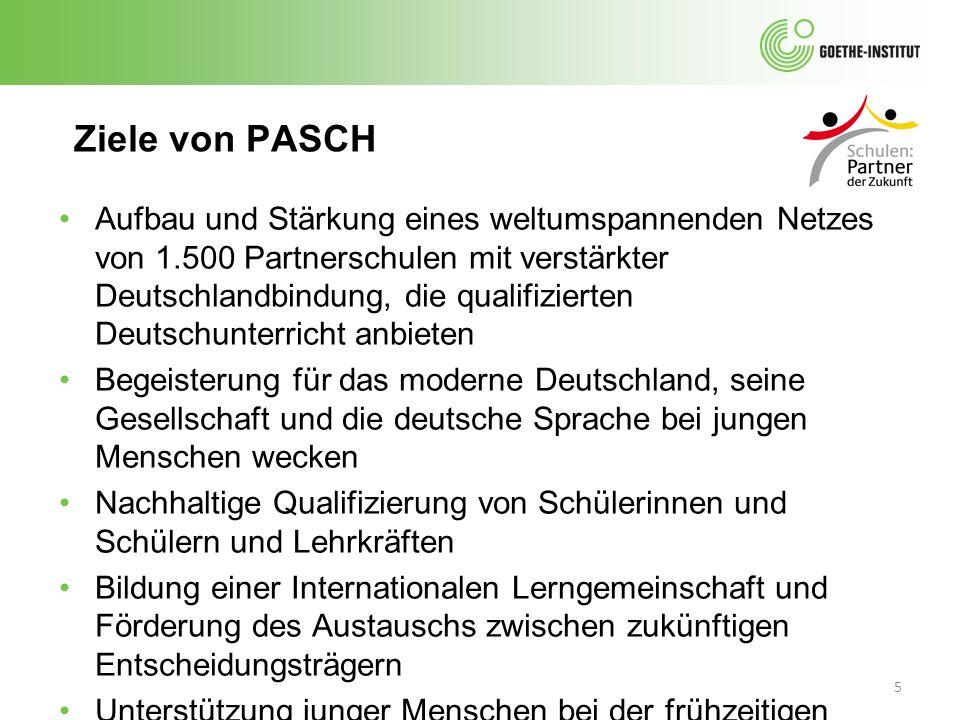 Ziele von PASCH