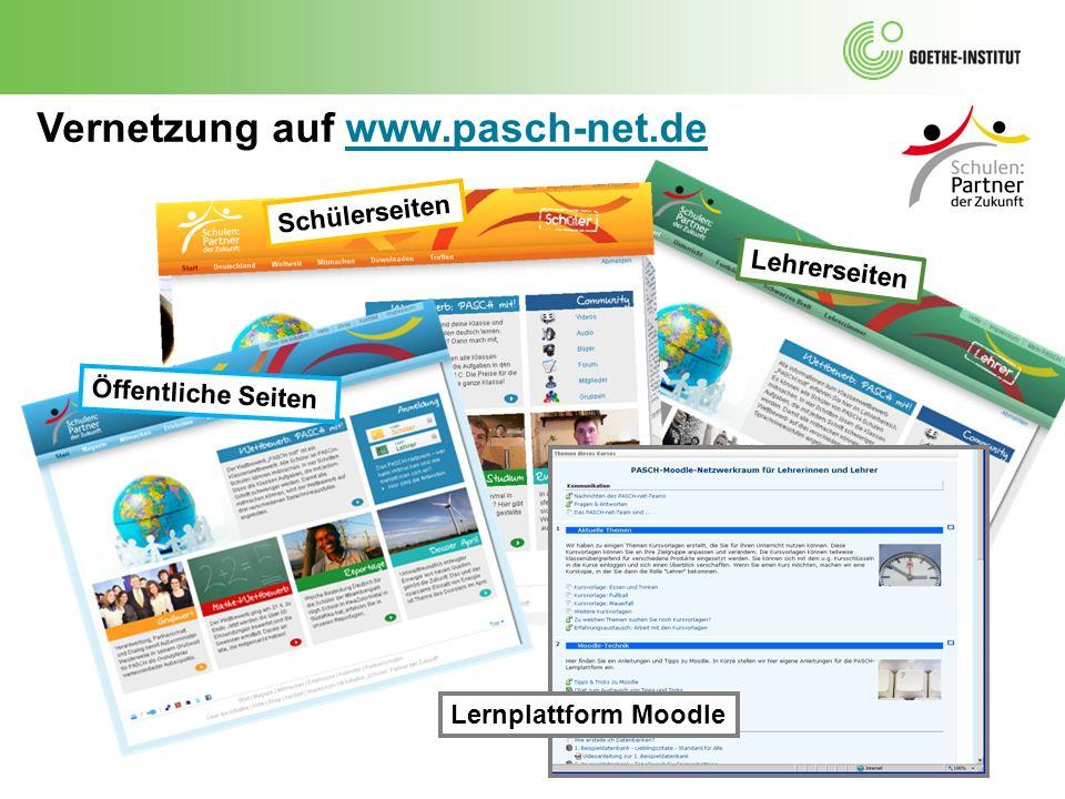 Vernetzung auf www.pasch-net.de