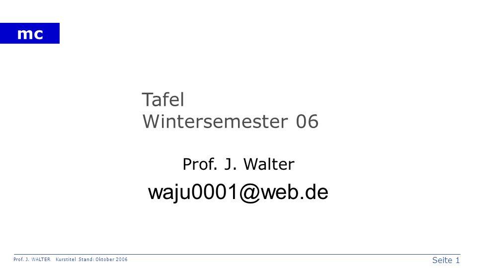 Prof. J. Walter waju0001@web.de