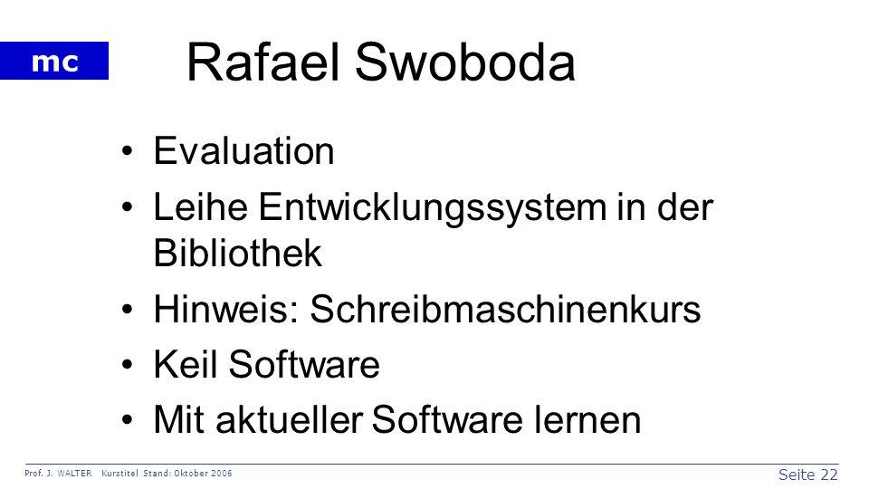 Rafael Swoboda Evaluation Leihe Entwicklungssystem in der Bibliothek