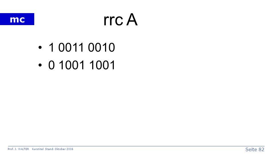 rrc A 1 0011 0010 0 1001 1001