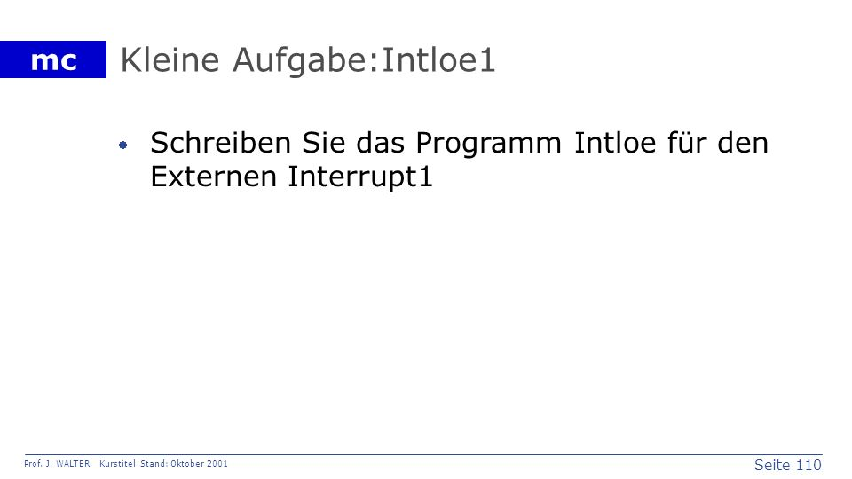 Kleine Aufgabe:Intloe1