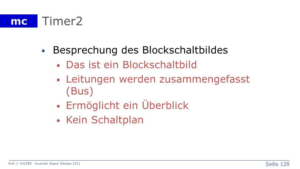 Timer2 Besprechung des Blockschaltbildes Das ist ein Blockschaltbild