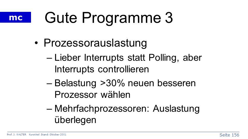 Gute Programme 3 Prozessorauslastung