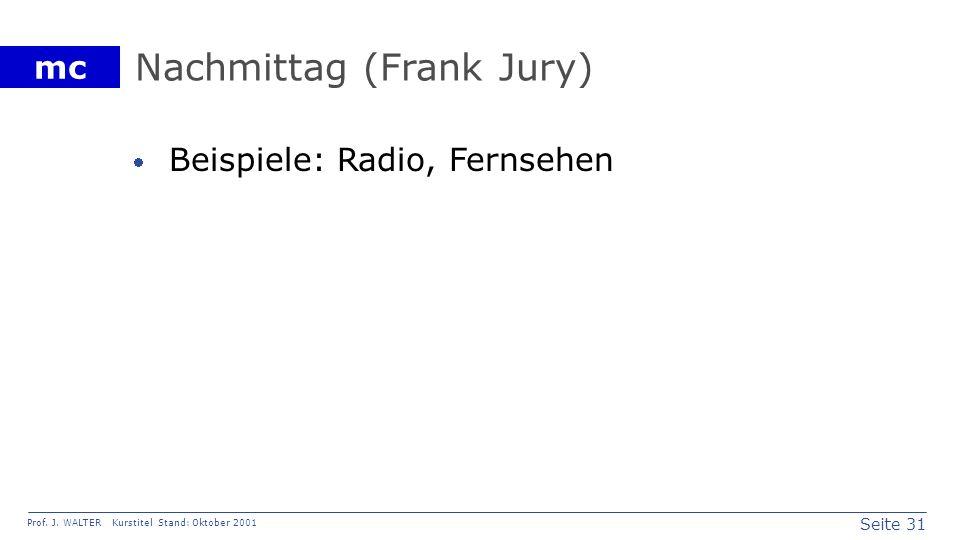 Nachmittag (Frank Jury)