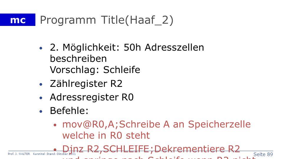 Programm Title(Haaf_2)
