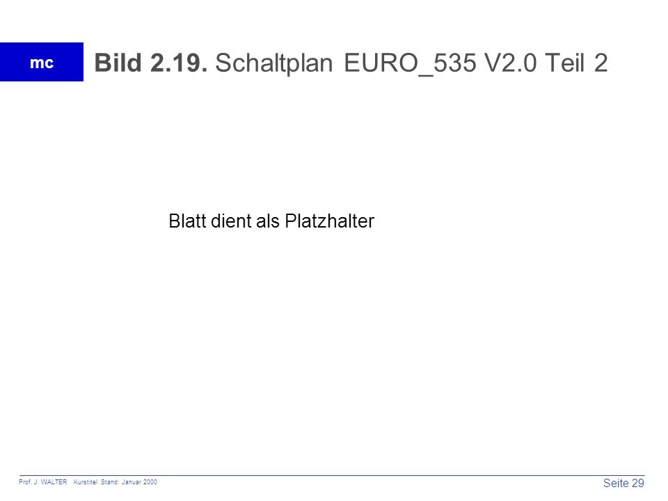 Bild 2.19. Schaltplan EURO_535 V2.0 Teil 2