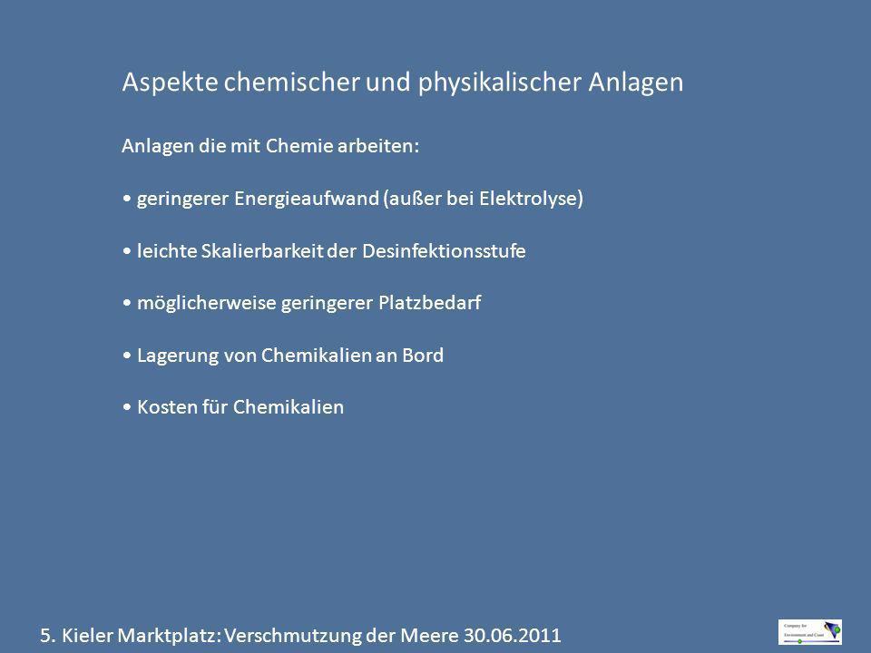 Aspekte chemischer und physikalischer Anlagen