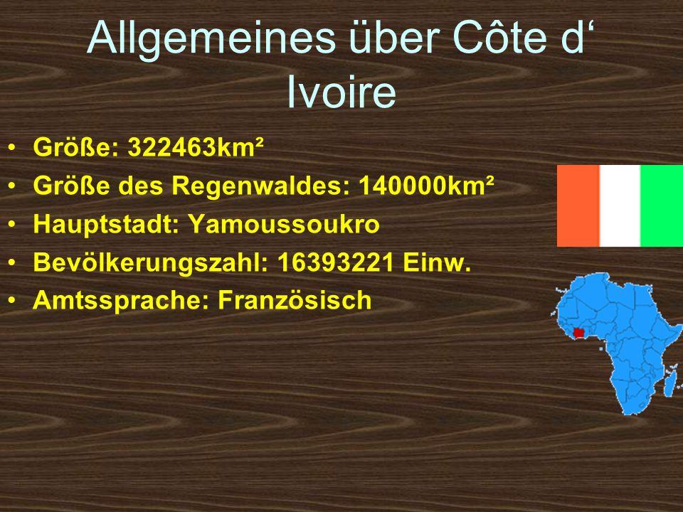 Allgemeines über Côte d' Ivoire