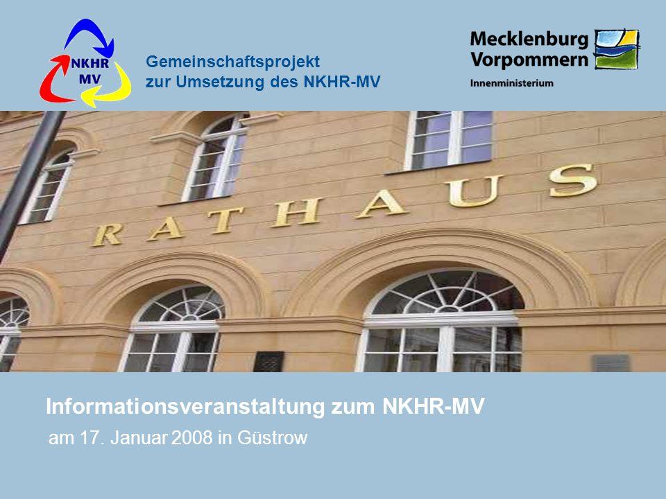 Informationsveranstaltung zum NKHR-MV