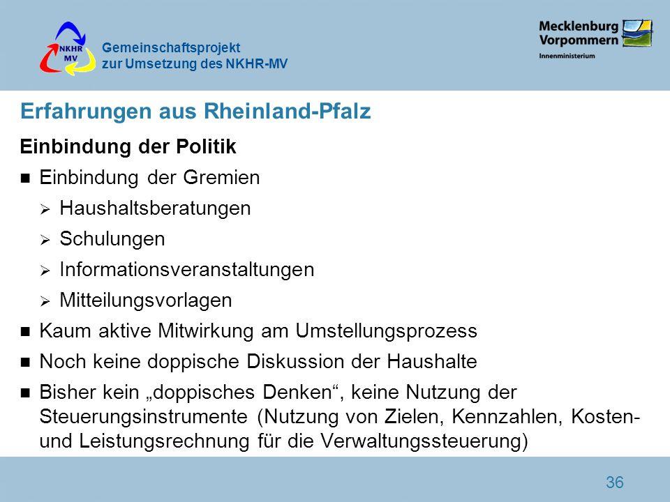 Erfahrungen aus Rheinland-Pfalz