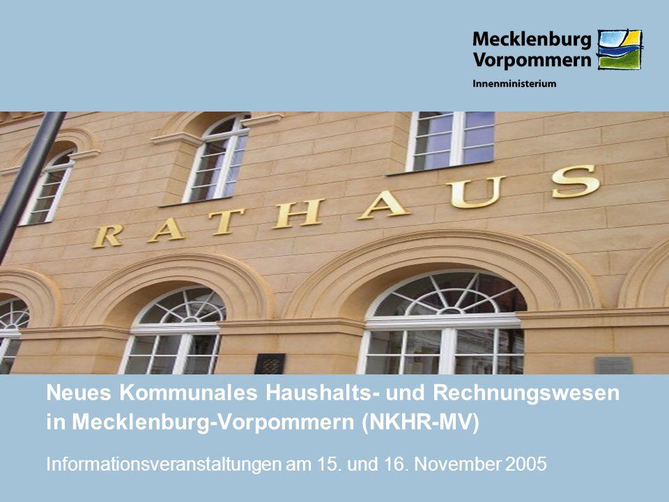Informationsveranstaltungen am 15. und 16. November 2005