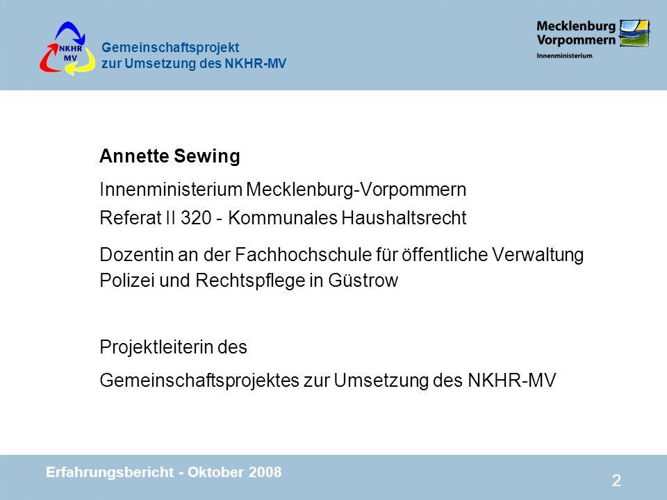 Innenministerium Mecklenburg-Vorpommern