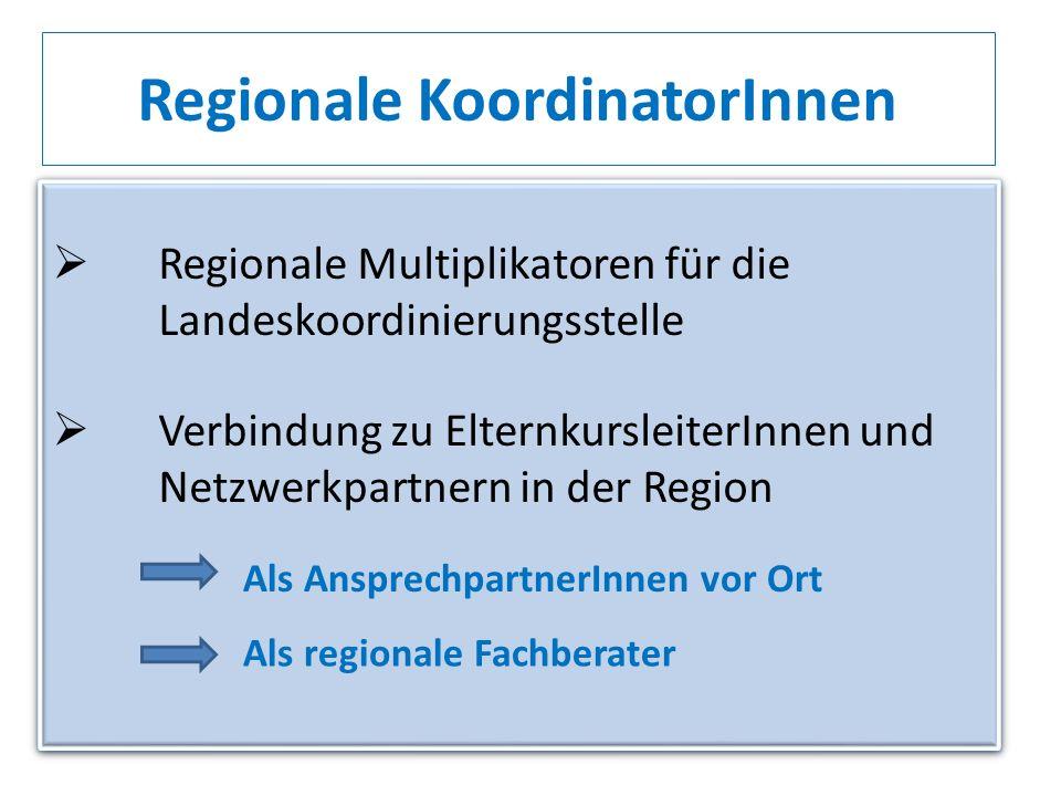 Regionale KoordinatorInnen