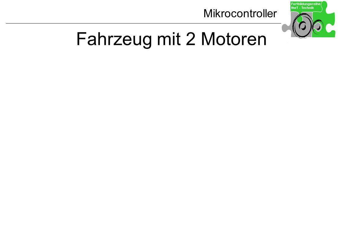 Fahrzeug mit 2 Motoren