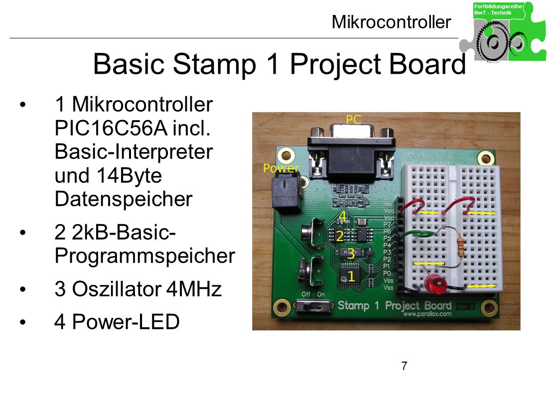 Basic Stamp 1 Project Board
