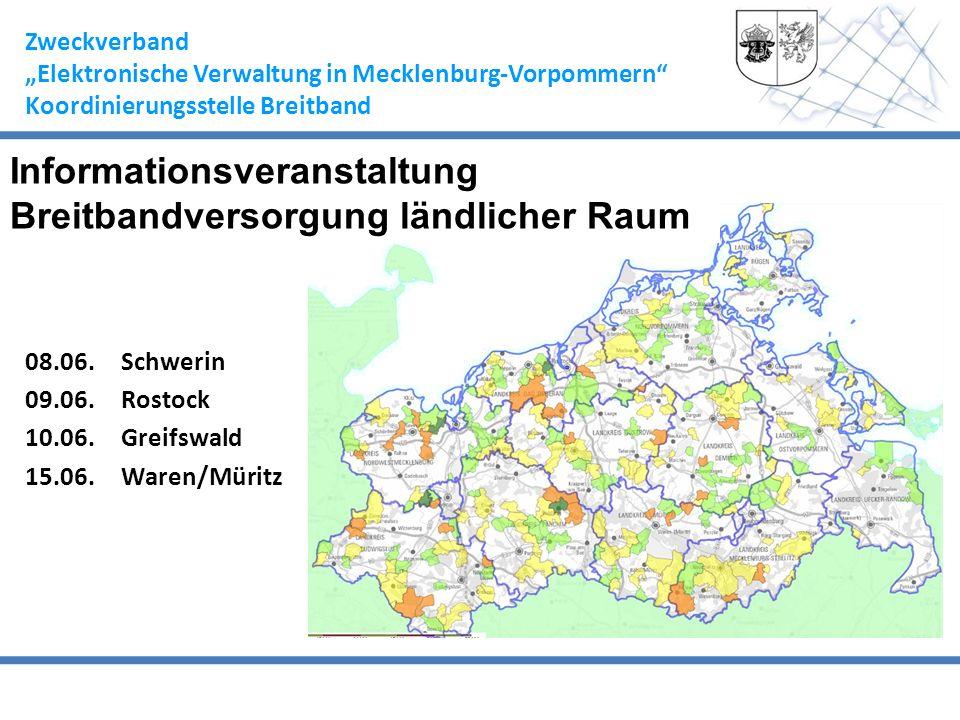 Informationsveranstaltung Breitbandversorgung ländlicher Raum
