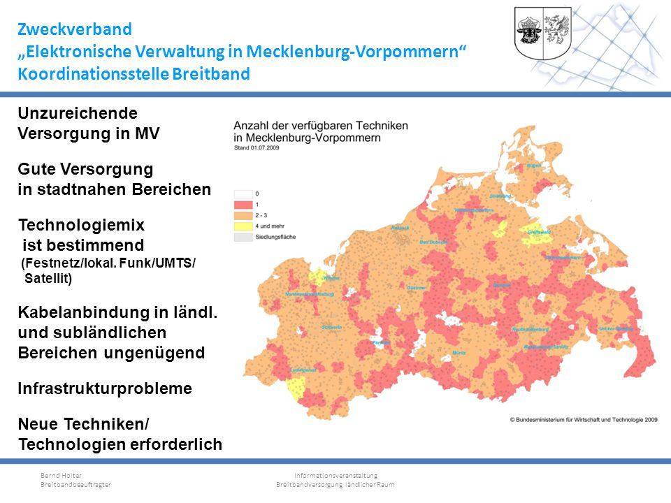 """""""Elektronische Verwaltung in Mecklenburg-Vorpommern"""