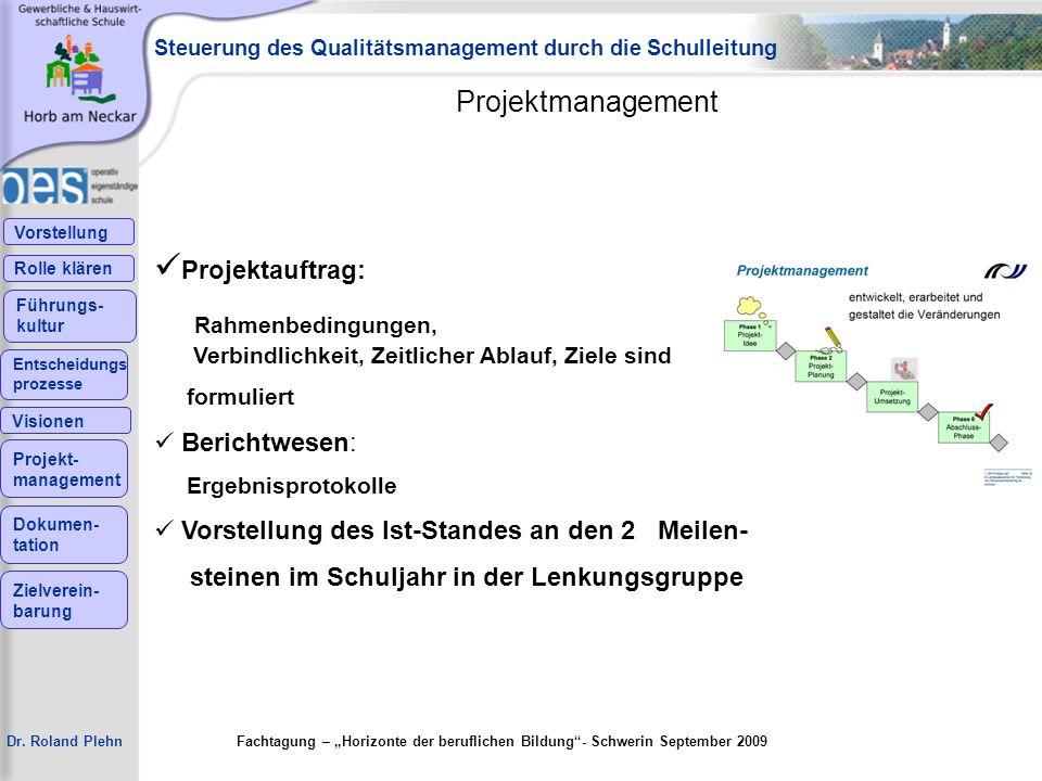 Projektauftrag: Projektmanagement