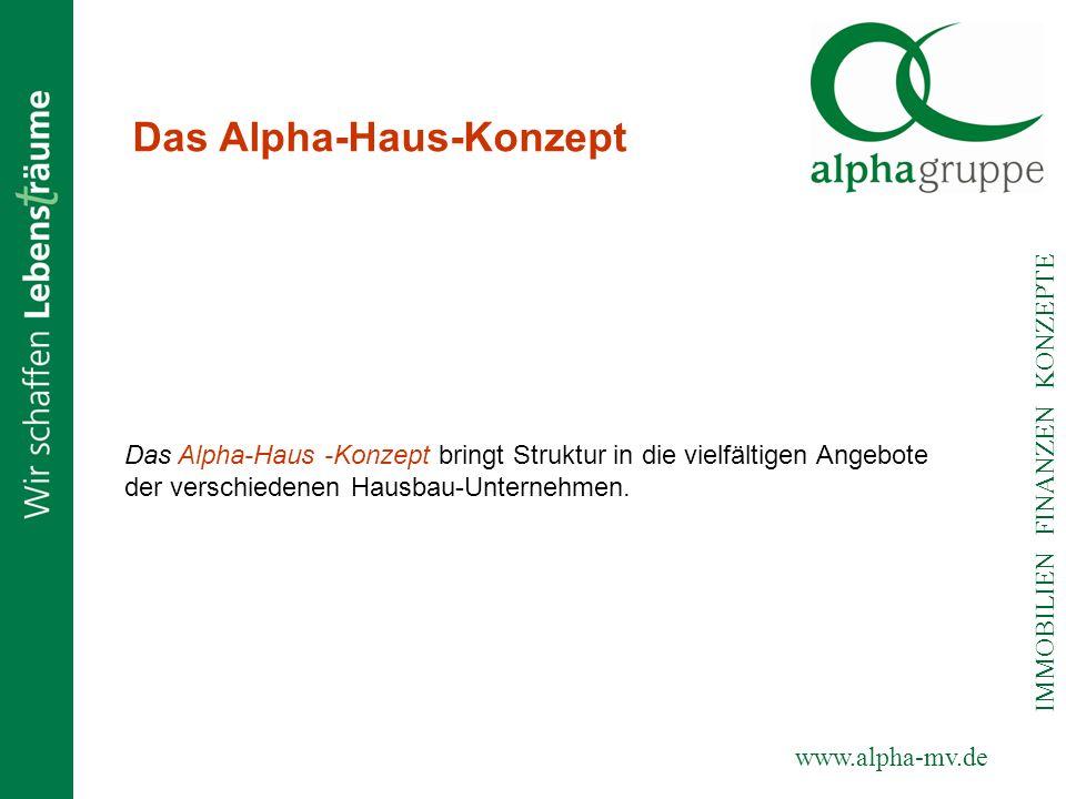 Das Alpha-Haus-Konzept