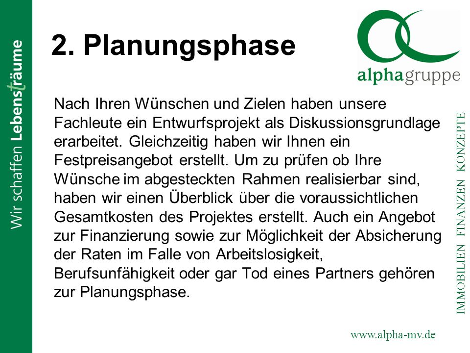 2. Planungsphase