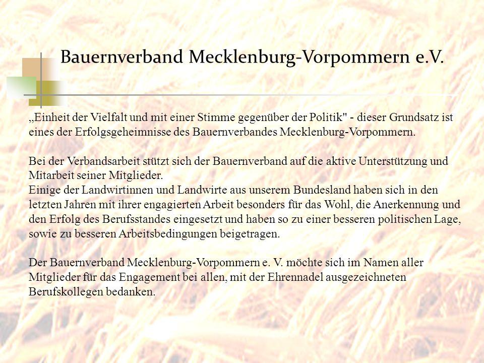 Bauernverband Mecklenburg-Vorpommern e.V.