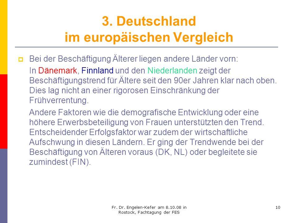 3. Deutschland im europäischen Vergleich