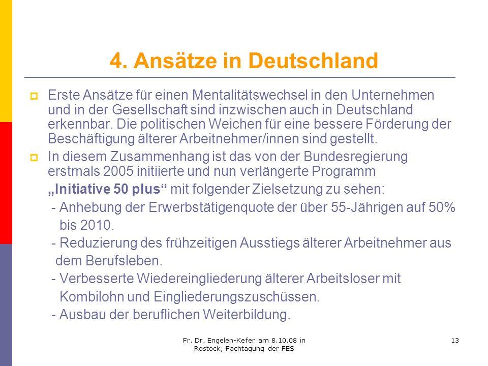 4. Ansätze in Deutschland