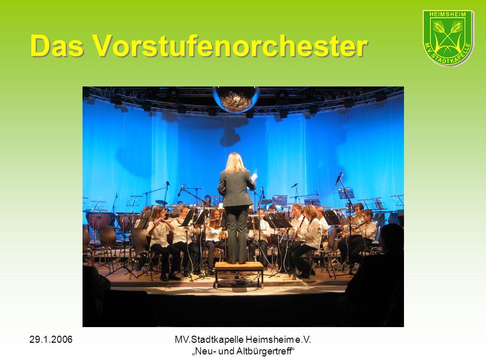 Das Vorstufenorchester